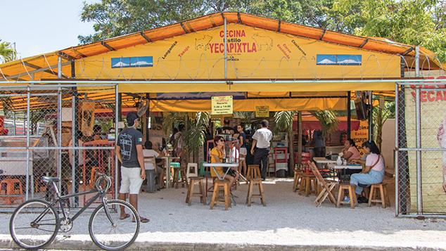 Tacos de Cecina de Yecapixtla